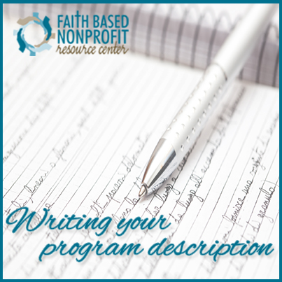 how to write grants for non profit organizations