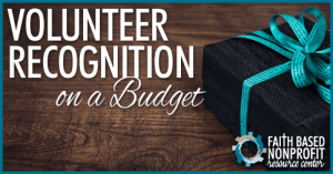 Volunteer Recognition on a Budget