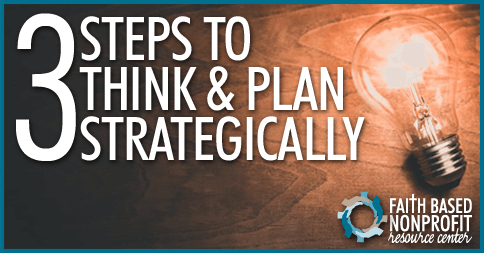 Think and Plan Strategically