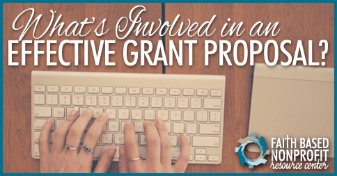 how to write effective grant proposals