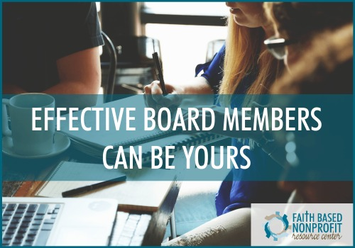 effective nonprofit boards