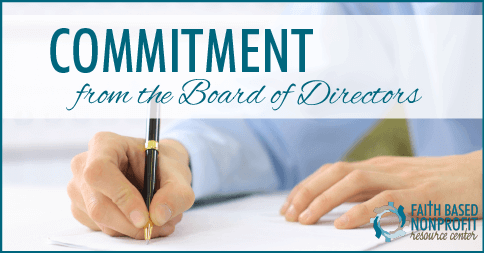 Getting Commitment from the Board of Directors