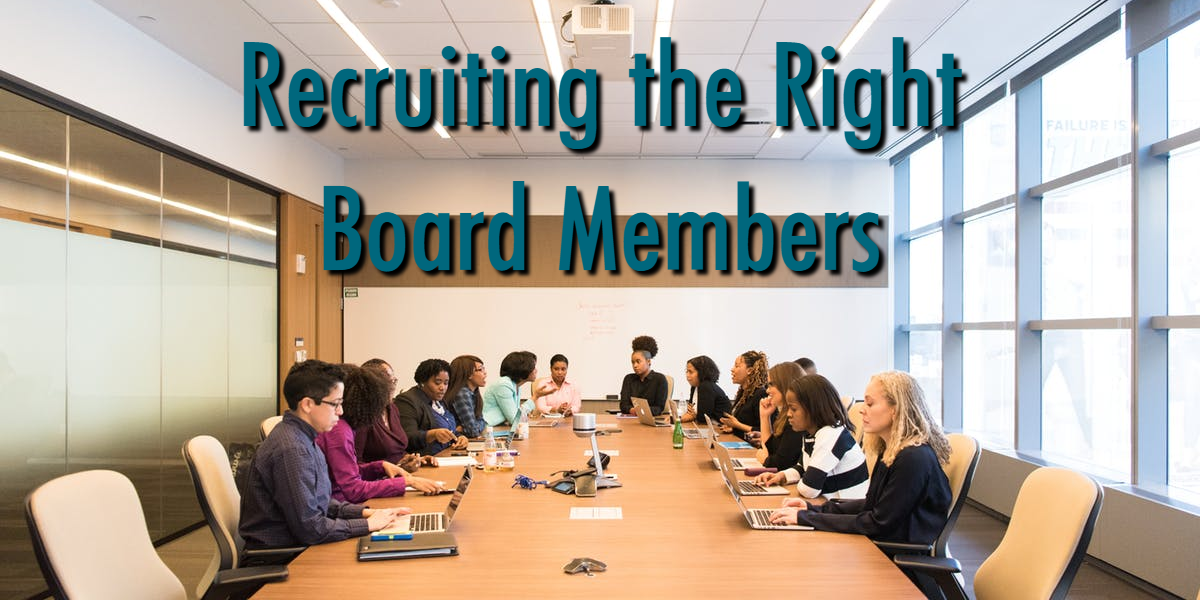 Recruiting the Right Board Members - Faith Based Nonprofit